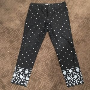 Old Navy Patterned Dress Pants